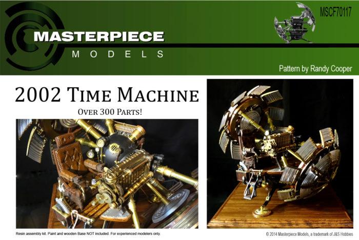 2002 Time Machine Scale Model Kit