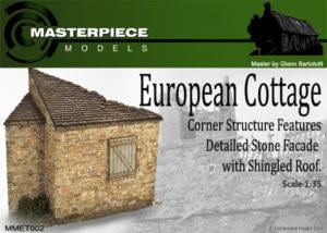 European Cottage Model Kit 1/35th Scale