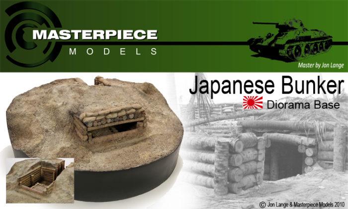 Japanese Log Bunker Base 1/35th Scale