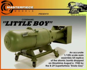 Little Boy Atomic Bomb