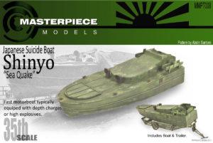 WWII Japanese Shinyo Boat