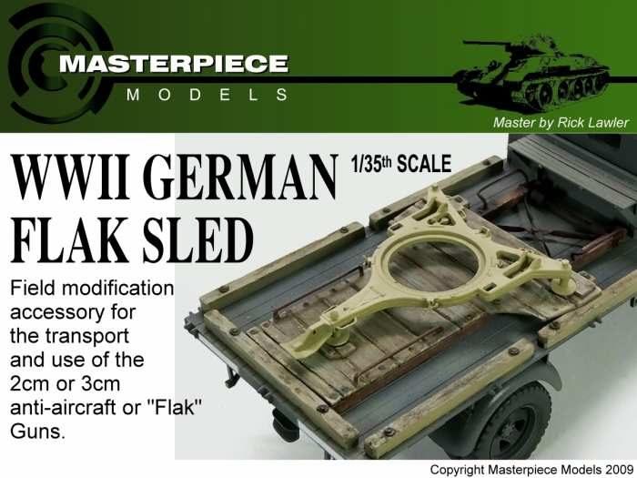 WW2 German Flak Sled