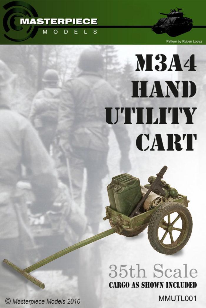 WWII Hand Utility Cart Model Kit
