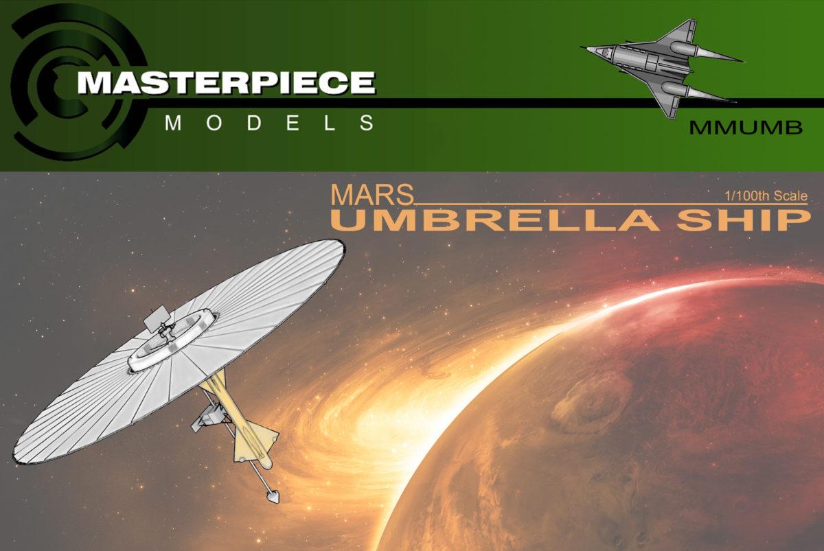 Mars Umbrella Ship – $139.99 – Masterpiece Models