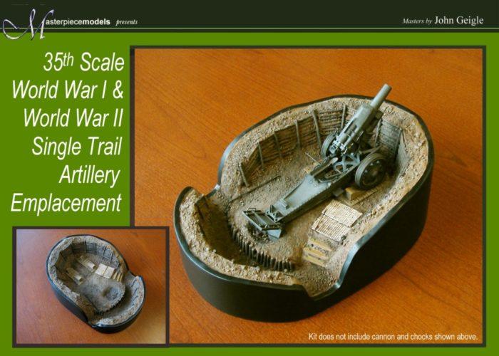 Single Trail Artillery Emplacement