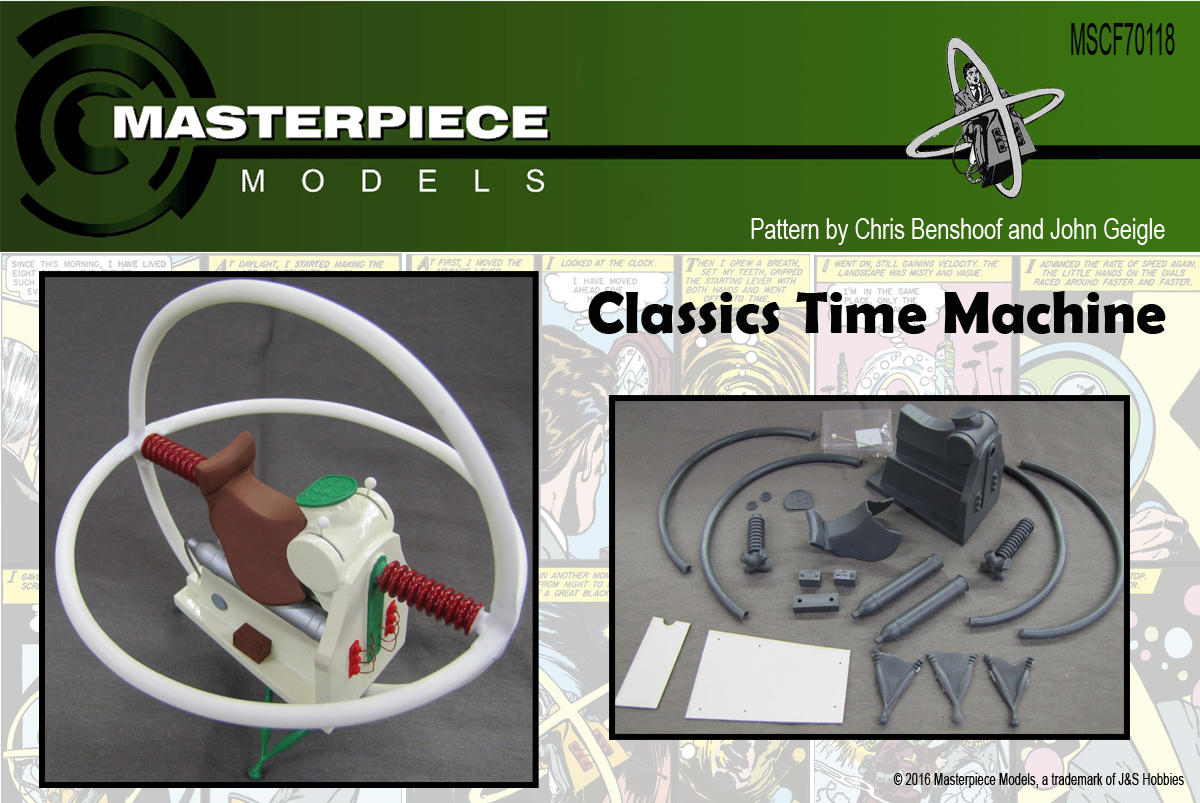 1/12 Scale Classics Time Machine