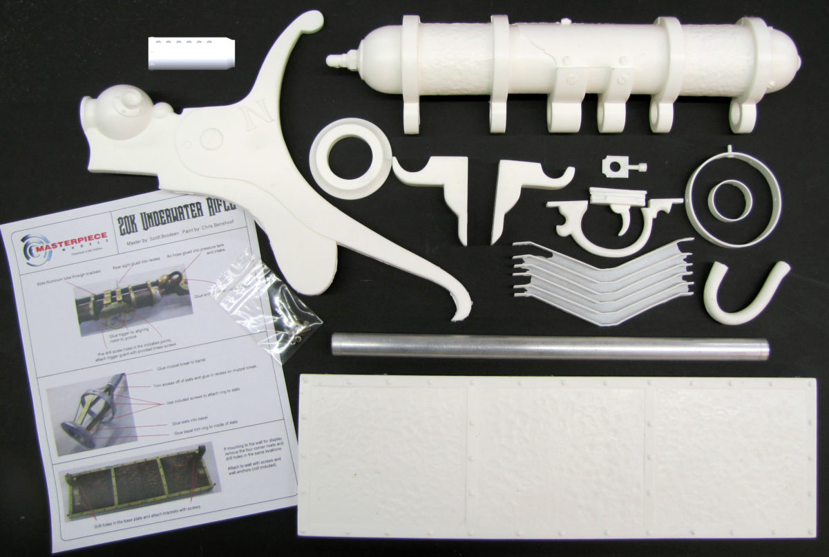 20k underwater rifle parts