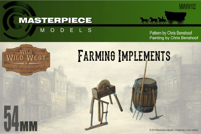 Farming Implements Model Kit
