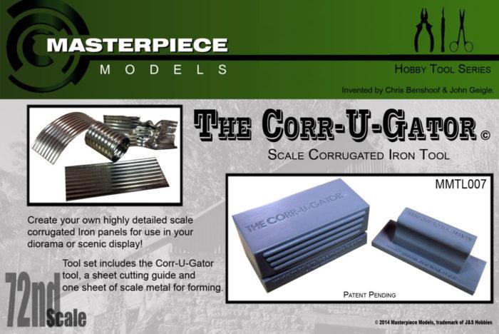 Scale Corrugating Tool