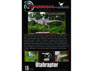 Utahraptor 1/6 Scale