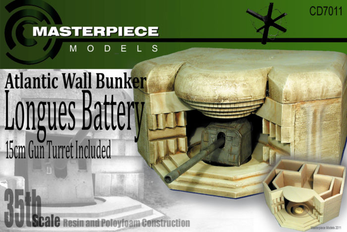 Lounges Battery CD 7011 1/35 Scale | Masterpiece Models