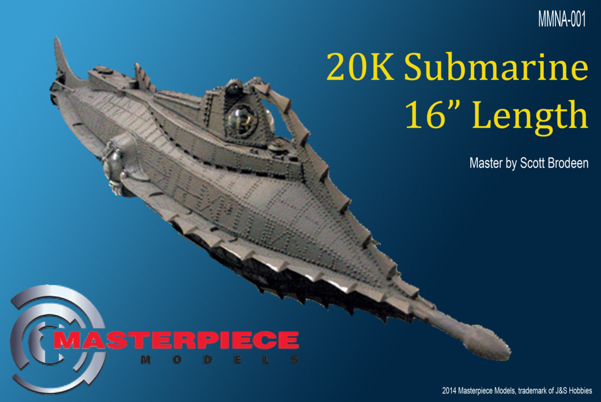 "The Nautilus 16"" 20K Submarine"