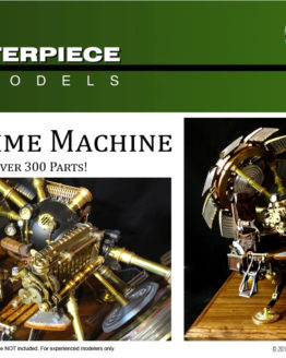 2002 Time Machine Scale Model Kit