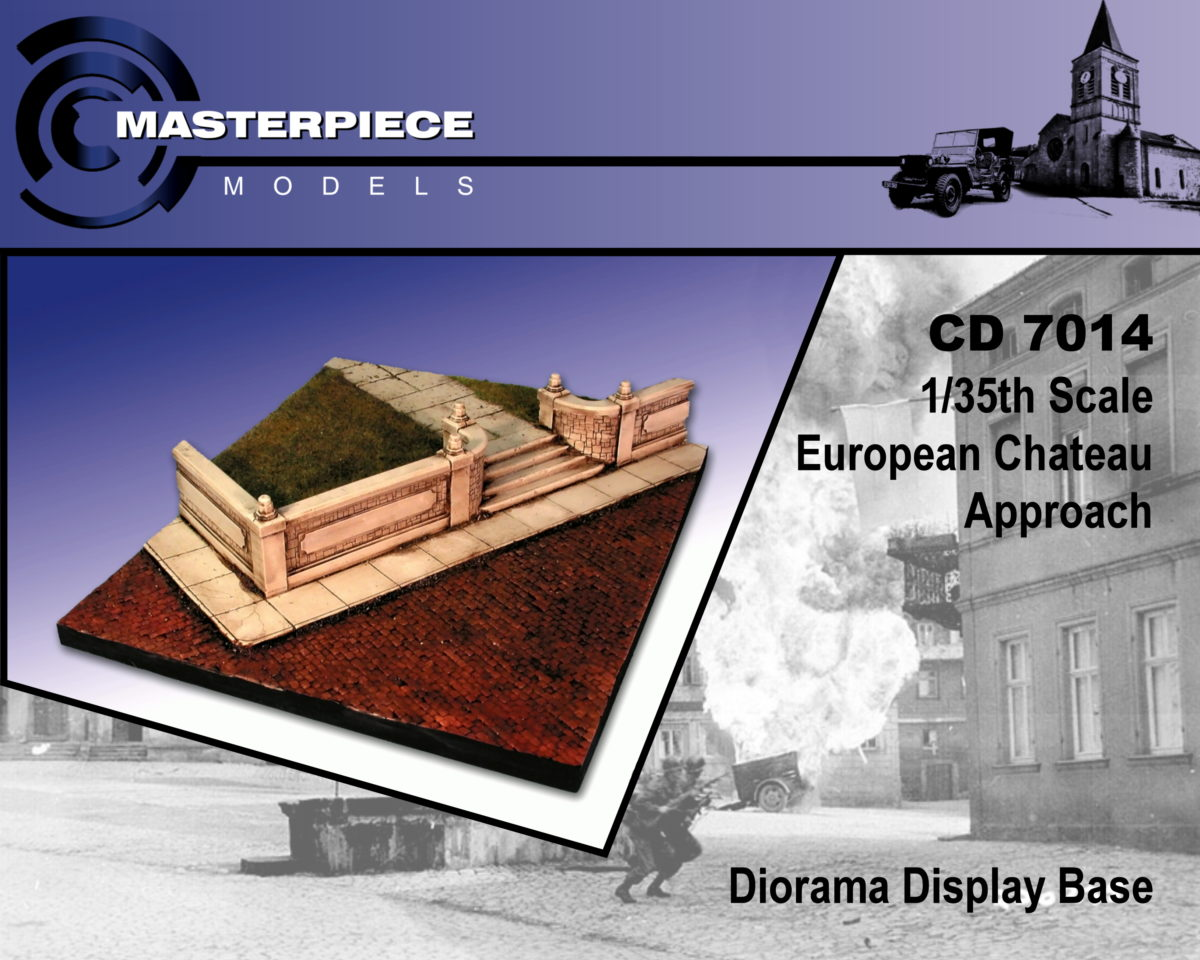 European Chateau Approach Model Kit 1/35th Scale