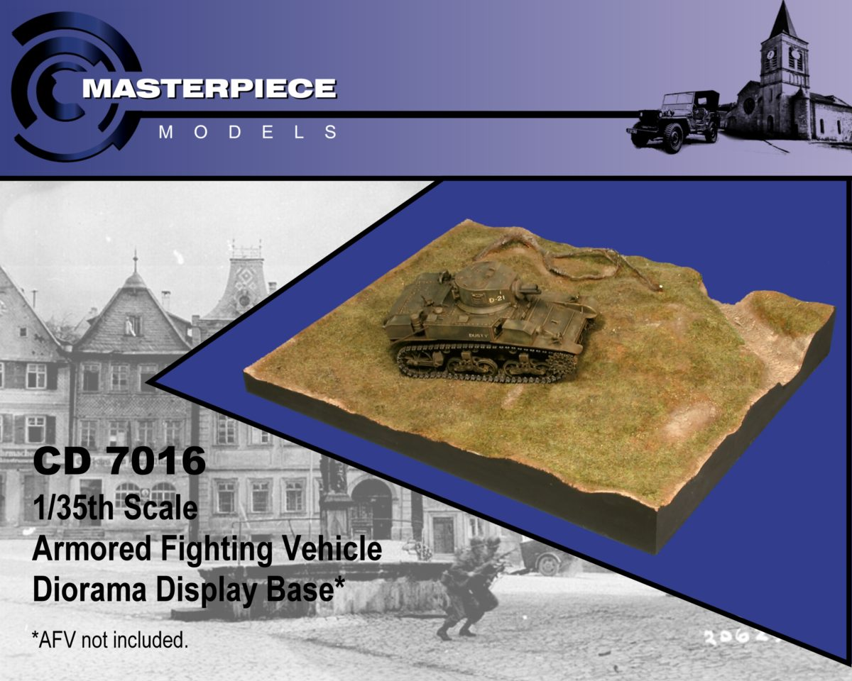 Dioart 1//35 Modern AFV Base Canadian Desert Environment version A.
