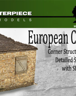 European Cottage Model Kit 1/35th Scale