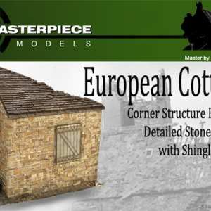 European Cottage Model Kit