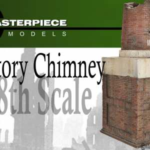 Factory Chimney Model Kit