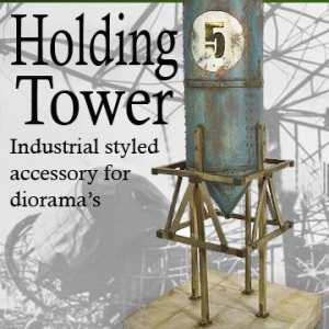 Metal Holding Tower Model Kit