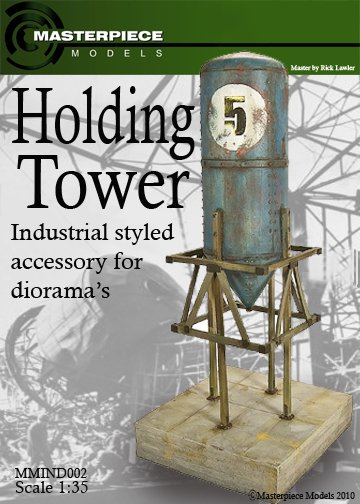 Metal Holding Tower Model Kit