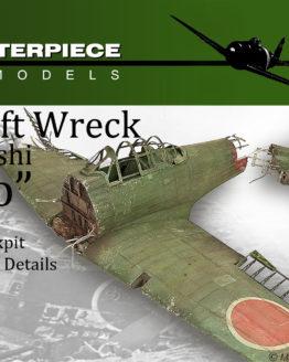 Wrecked Japanese Zero Model Kit