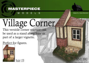 Village Corner Resin Model Kit 1/35th Scale