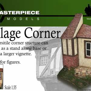 Village Corner Resin Model Kit