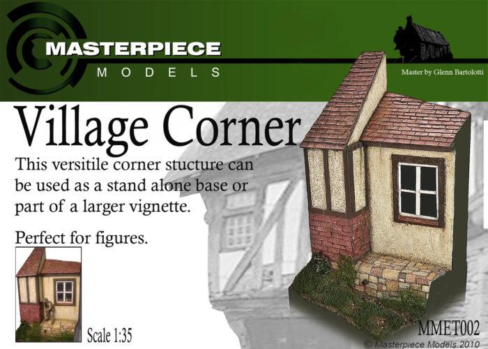 Village Corner Resin Model Kit 1/35th Scale