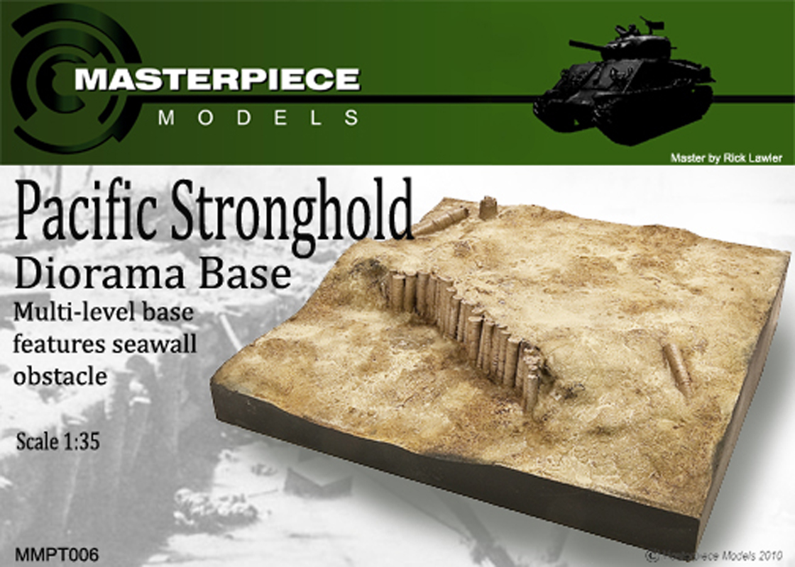Pacific Stronghold Diorama Base