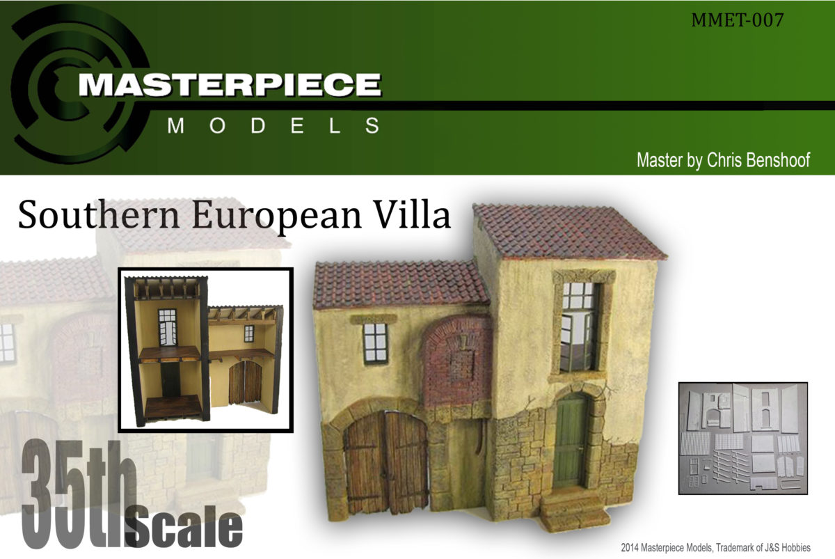 Southern European Villa Model Kit