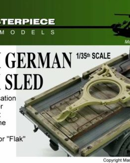 WW2 German Flak Sled