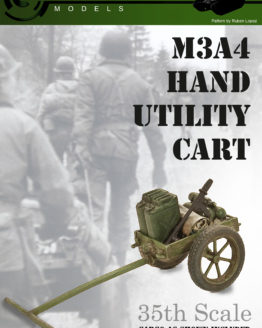 WWII Hand Utility Cart Model Kit