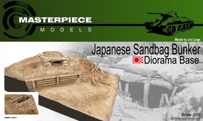 1/35th Japanese Sandbag Bunker | Masterpiece Models
