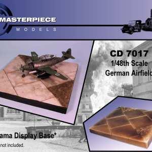 German Airfield Diorama Base