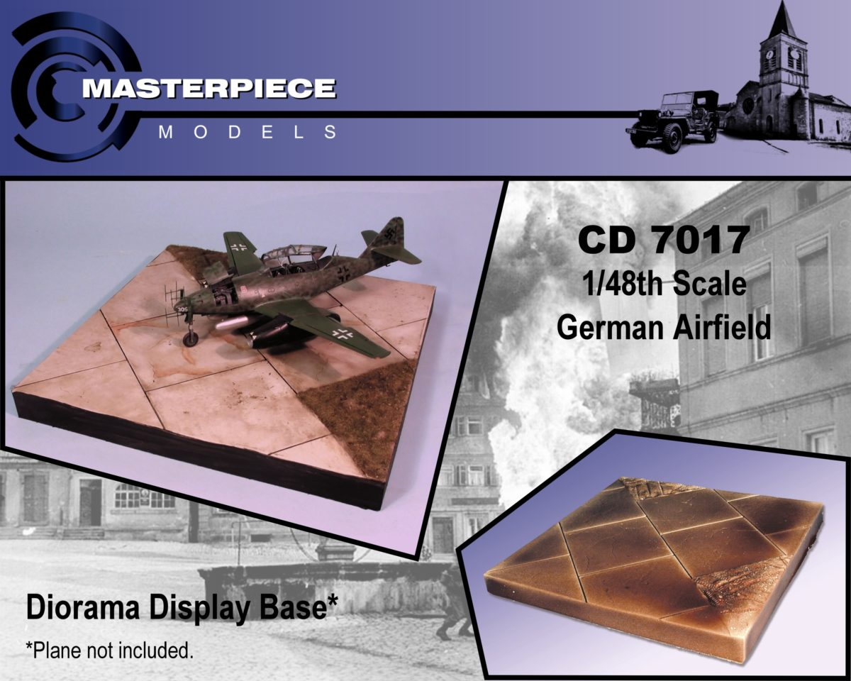 1/48th German Airfield Diorama Base