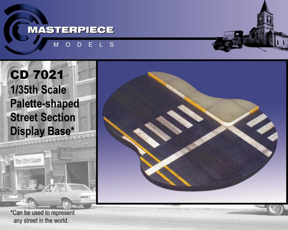1/35th Palette shaped street section