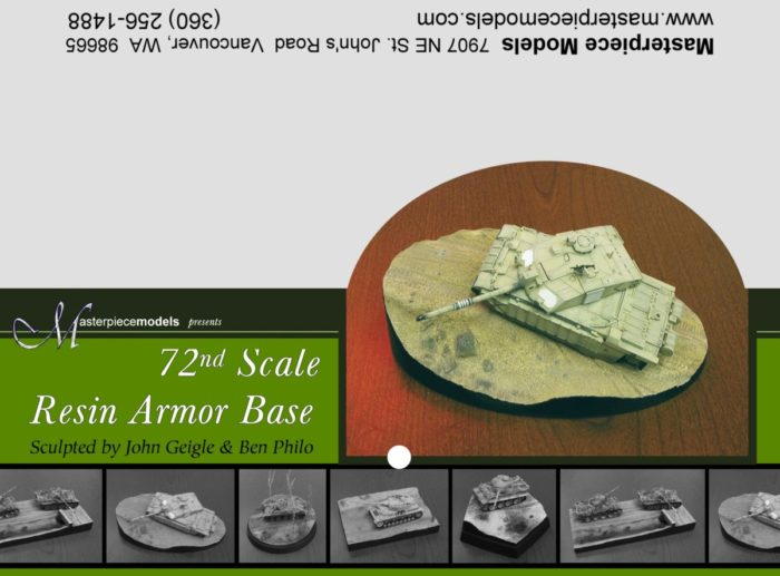 1/72nd Armor Base #3