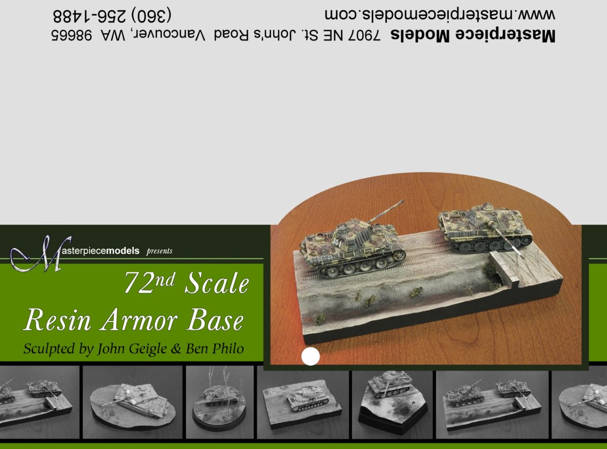 1/72nd Armor Base #4