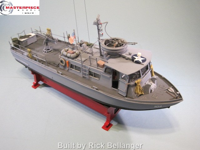 "1/35th Scale PCF ""Swift Boat"" – $179.99 – Masterpiece Models"