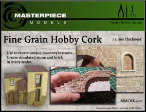Model Making Cork Sheet