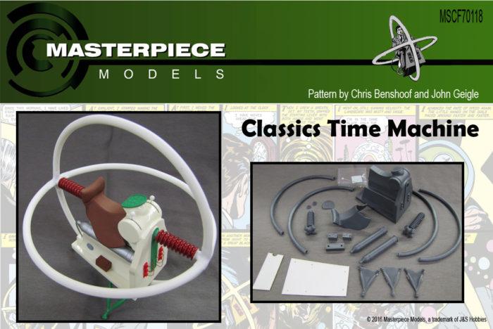 1/12 Scale Classics Time Machine