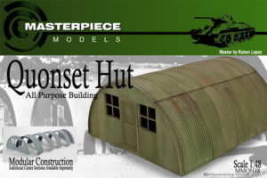 1/48th scale Quonset hut resin assembly kit