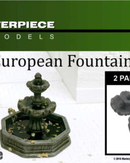 European Fountain Model Kit