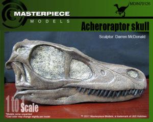 Acheroraptor skull box art