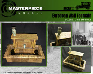 European Wall Fountain Label