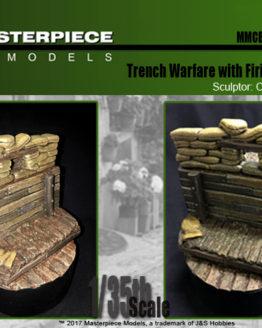 Trench Warefare with Firing Platform Label