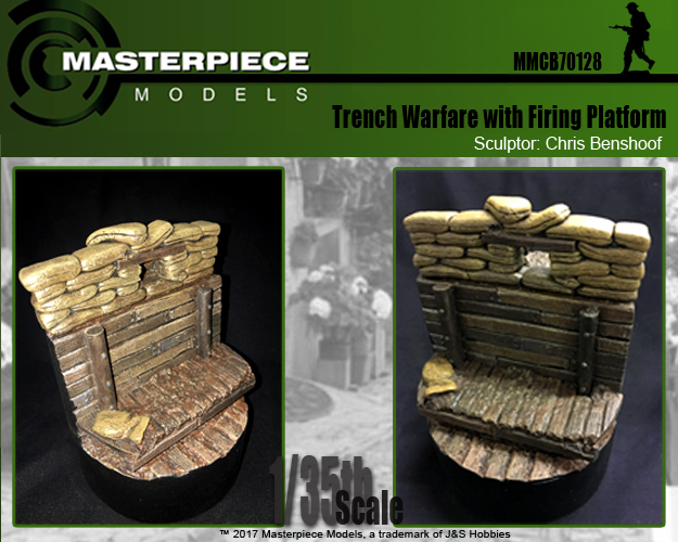 Trench Warefare with Firing Platform Label