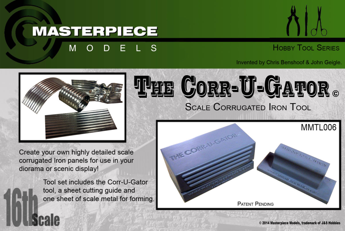 1/16 scale corrugating tool