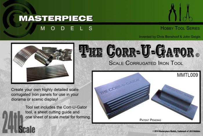 Corrugating Tool Set 1/24 Scale