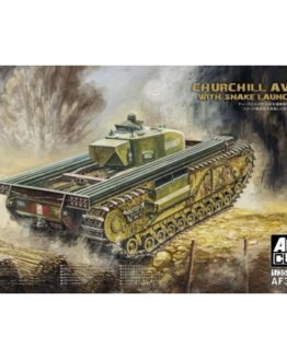 AFV Club Churchill AVRE with Snake Launcher